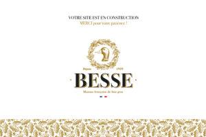 page de site en construction maison française besse, foie gras dans les landes